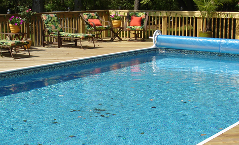 Rectangle Above Ground Pool aquastar - america's best on-ground swimming pools
