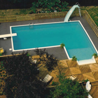 The pool building process