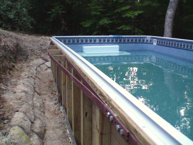 Craftsmanship of Above Ground Pool Project
