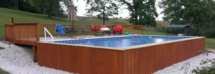 Aqua Star On-Ground Deckable Pool