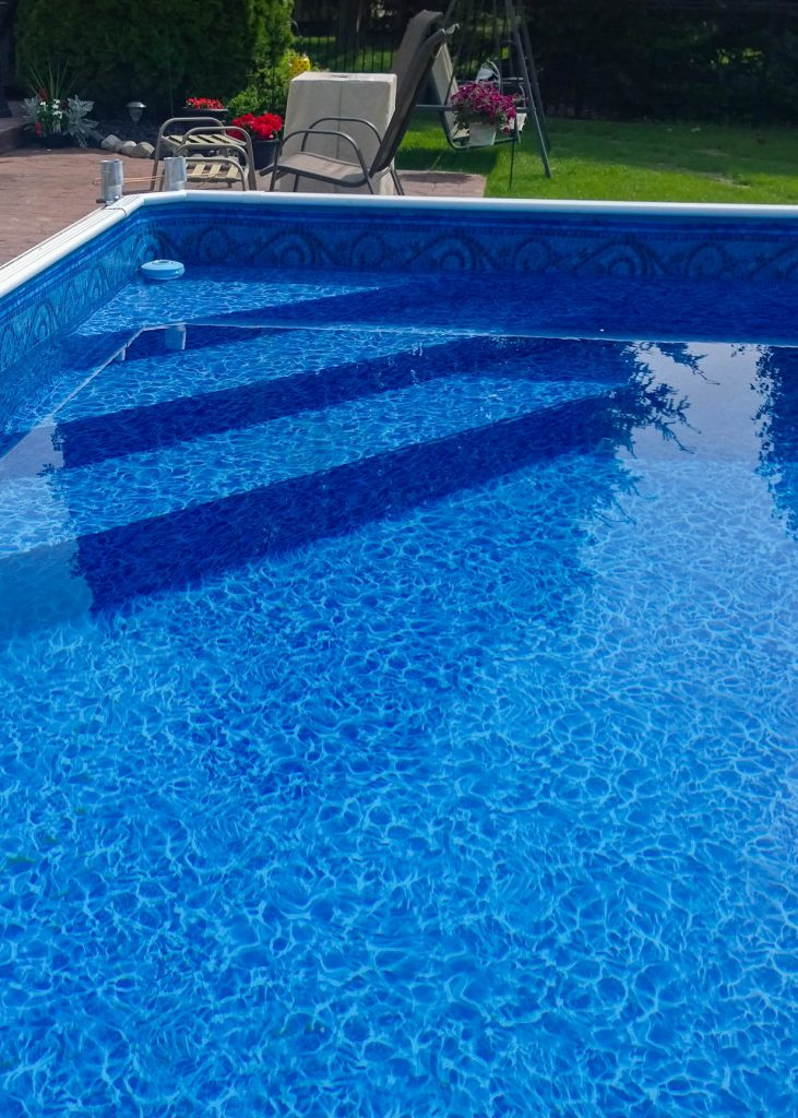 Macomb, MI Above Ground Swimming Pool Steps