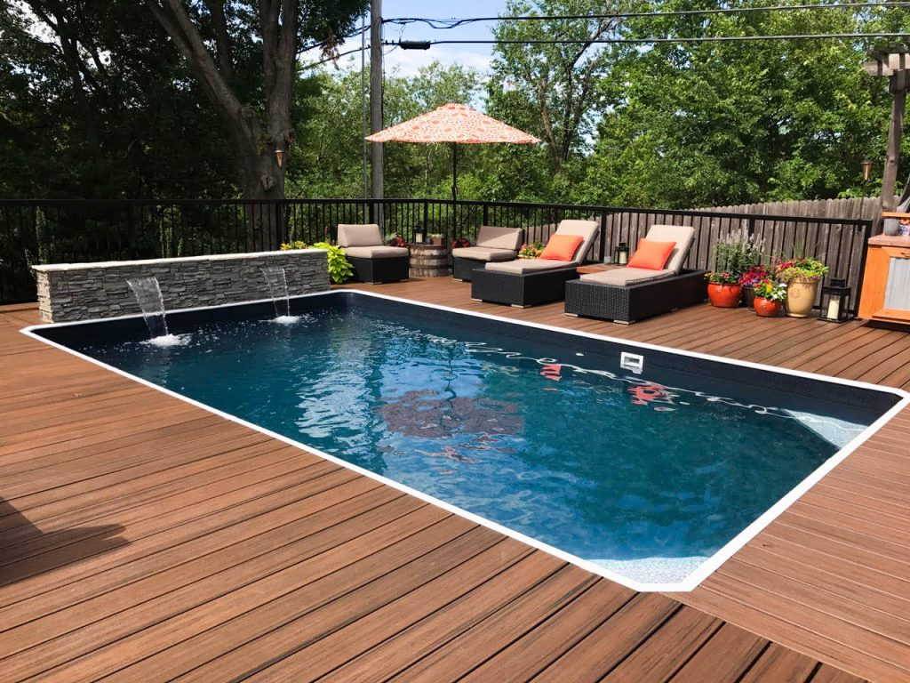 Above Ground Swimming Pool Decks in OK